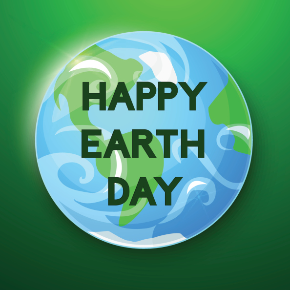 Happy Earth Day vector ilustration