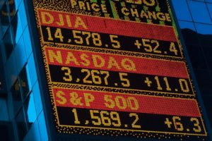 Stock information board