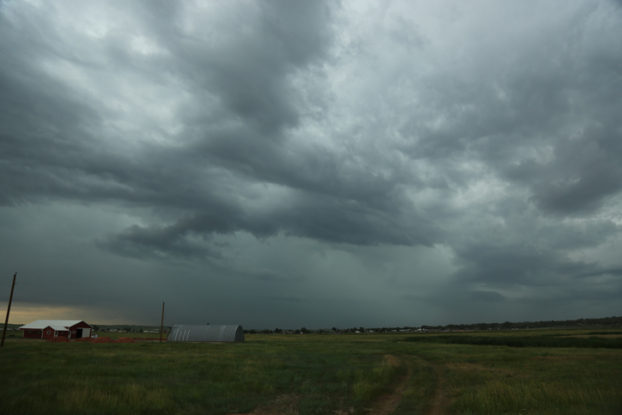 Taken just outside of Watford City, ND before a huge storm hit the area.