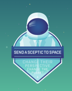 Send a Skeptic to Space vertical