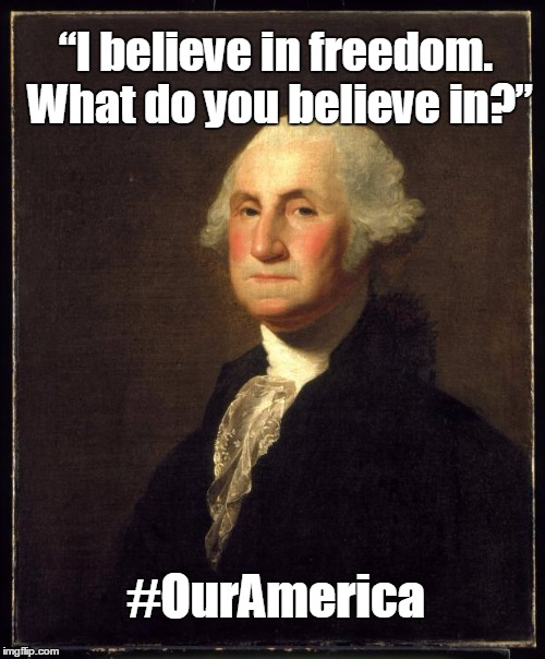 Washington #OurAmerica Meme