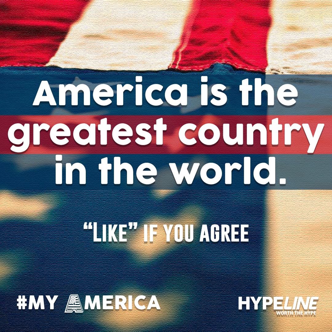 #MyAmerica is Great