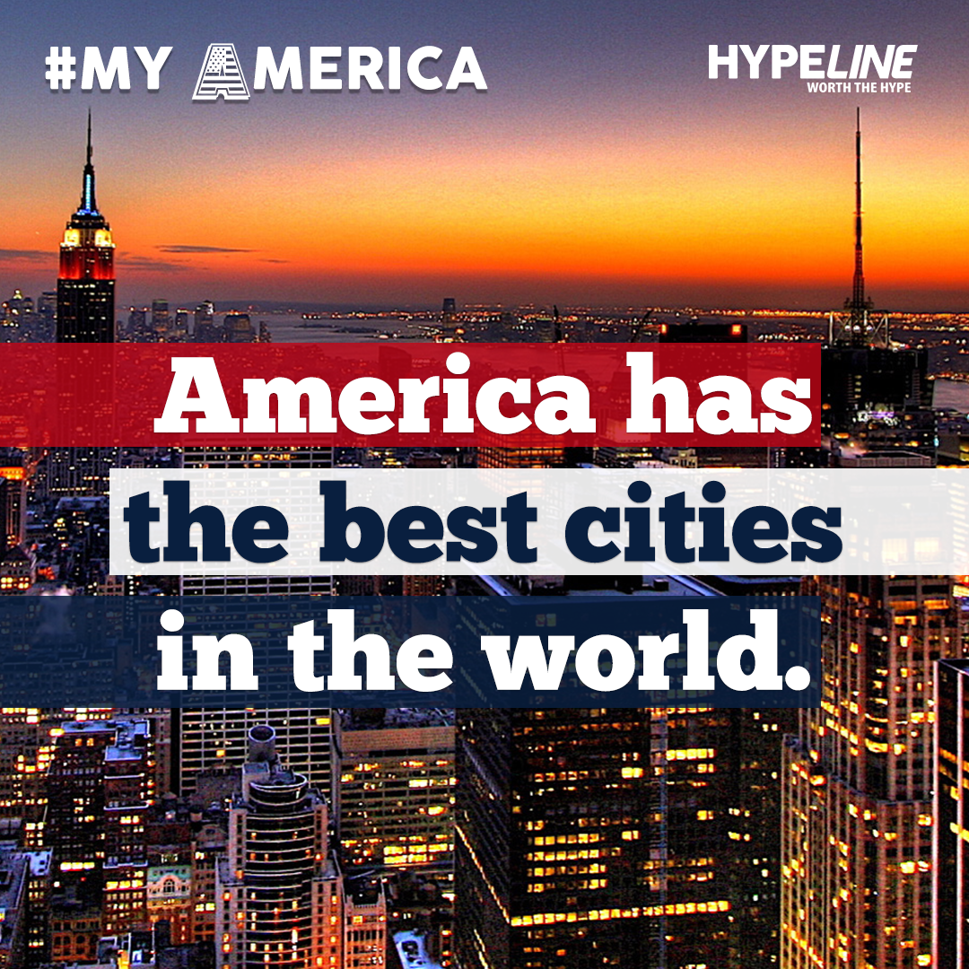 #MyAmerica cities