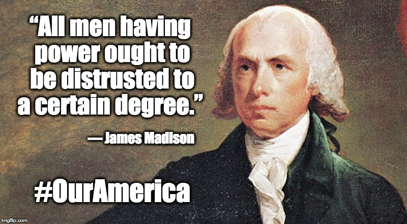 #OurAmerica James Madison