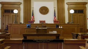 Courthouse Courtroom