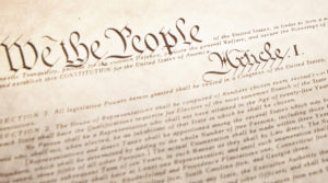 The American Constitution (Selective Focus)