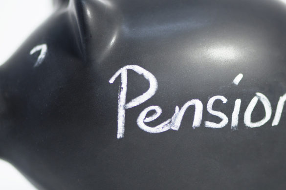 blackpiggy bank pensions