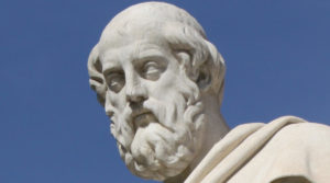 """""""Statue of Plato in Athens, Greece"""""""