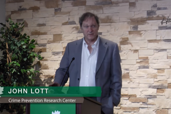 John Lott at Heartland Institute