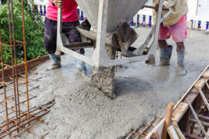 Cement for house construction