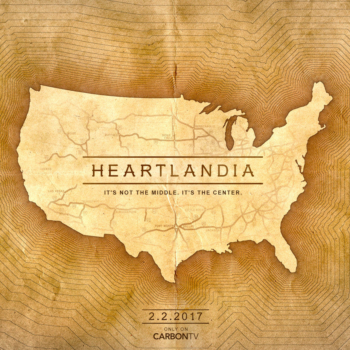 Heartlandia ad. Carbon TV.