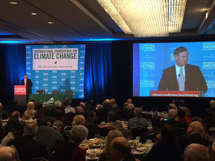Lamar Smith Heartland Institute Climate Conference
